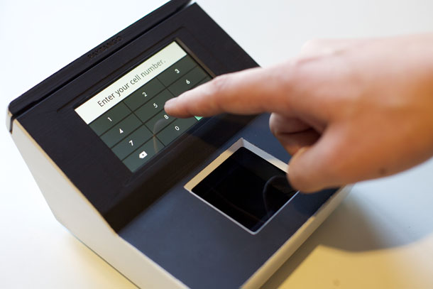 Company tangos with biometric payments