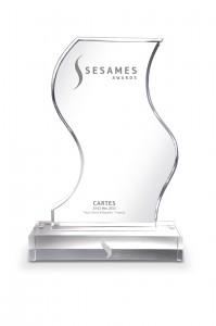 Sesames Awards-trophee