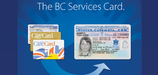 British Columbia issues combined ID for driver license, health, online use