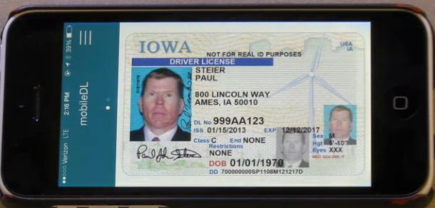 Iowa Launches Mobile Driver License Pilot Secureidnews