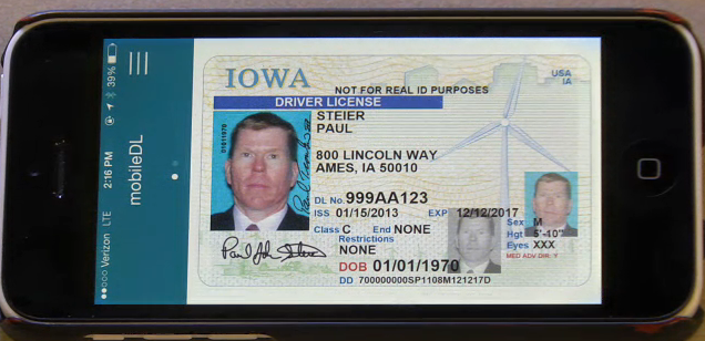 Education Department Launches New >> Iowa launches mobile driver license pilot - SecureIDNews