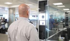U.S. customs using facial recognition at JFK