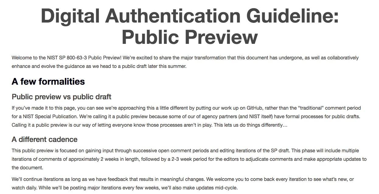 Nist undertaking significant update to digital authentication nist undertaking significant update to digital authentication guidelines secureidnews hexwebz Images
