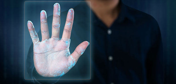 Palm Vein Biometrics Miniaturized For Mobile