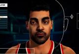 Face biometrics from NBA 2K16