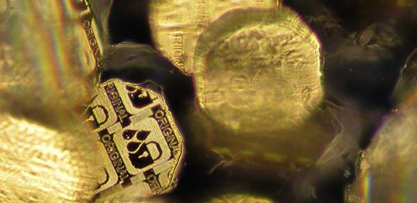 Hologram dust adds fingerprint to secure ID documents