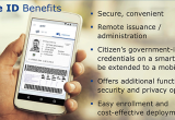 Benefits of cards and mobile IDs