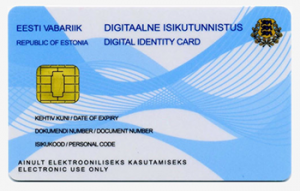 Estonia national digital ID card