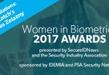 Women in Biometrics 2017 winner: Frances Zelazny, BioCatch