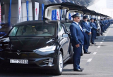 Dubai travel authentication to enable airport check-in via Tesla