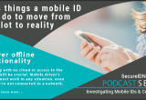 Top 4 mobile driver's license pilot characteristics