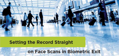 Industry group defends Biometric Exit benefits against Georgetown criticisms