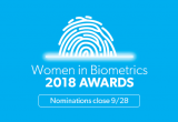 Women in Biometrics Awards 2018