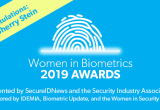 2019 Women in Biometrics Award winner: Sherry Stein, SITA
