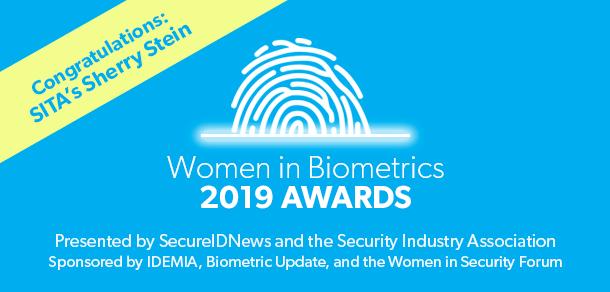 2019 Women in Biometrics Award winner: Sherry Stein, SITA - SecureIDNews