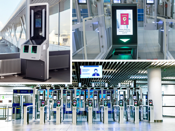 secunet EES installation at Sofia Airport